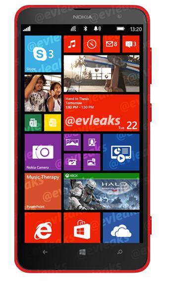 Lumia 1320 leaked 2