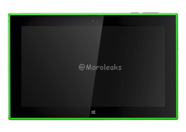 green Lumia 2520