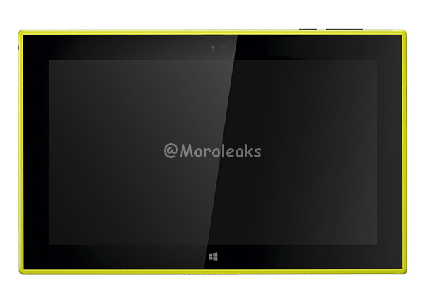 yellow Lumia 2520