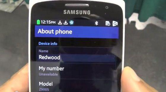 Samsung Tizen Z9005 Redwood