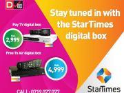 Startimes Free To Air Set Top Box