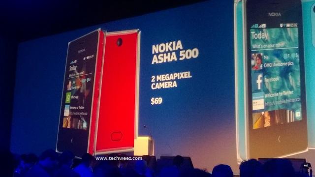 Nokia Asha 500 Kenya