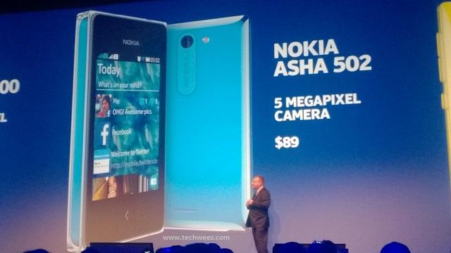 Nokia Asha 502 Kenya