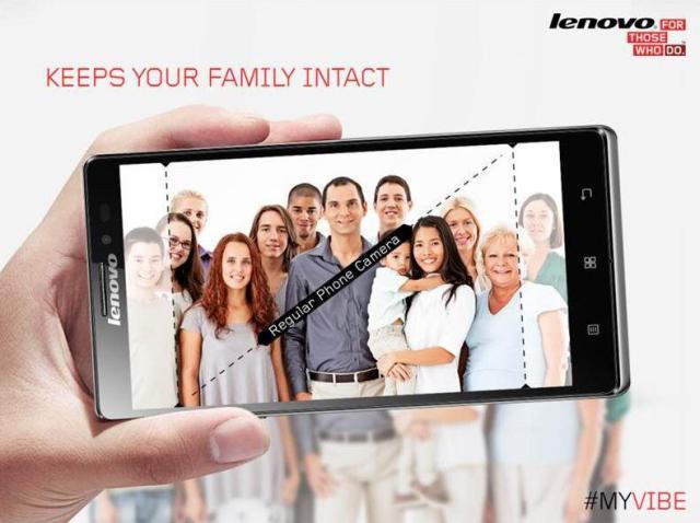 Lenovo trolls Samsung Oscar selfie