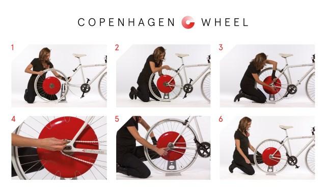 Fiiting the Copanhagen Wheel