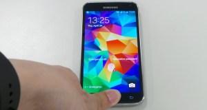 Samsung fingerprint scanner