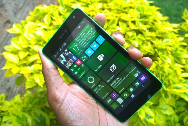 The Microsoft Lumia 535