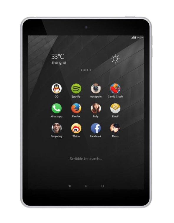 The Nokia N1 tablet has a 7.9 inch screen.