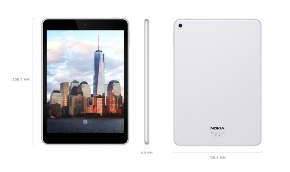 The Nokia N1 Android tablet looks remarkably similar to the Apple iPad mini.