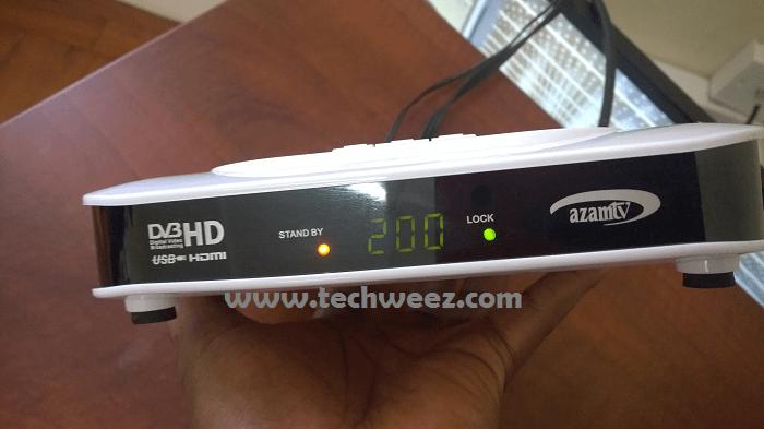 Azam TV decoder - Techweez