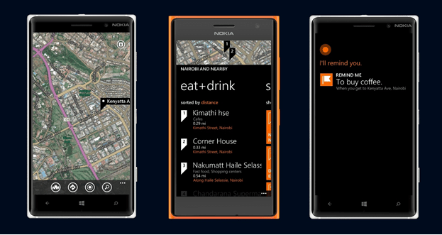 HERE Maps Location based reminders