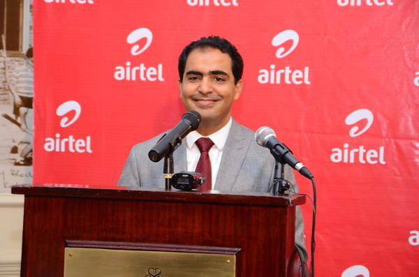 Airtel Kenya's CEO Adli El Youssefi during the launch