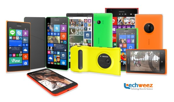 The Lumia Family of Products.