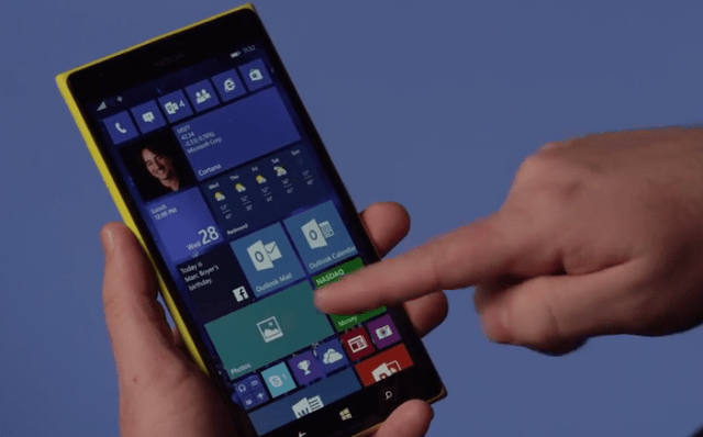 Windows 10 Phones Preview