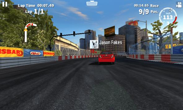 GT Racing 2 Galaxy J1