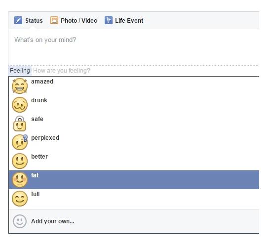 facebook fat emoticon