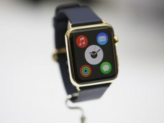 Gold Apple Watch