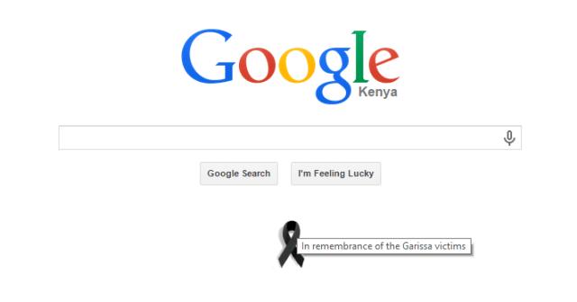 Google Kenya ribbon