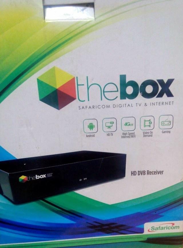 Safaricom thebox