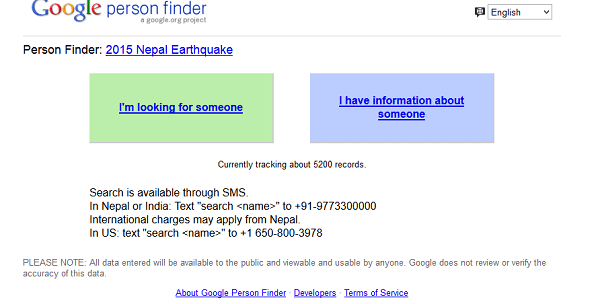 google person finder techweez