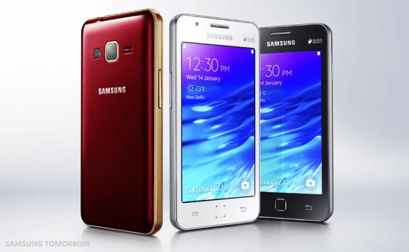 samsung z1 smartphone