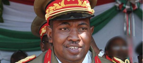 Army General Godefroid Niyombare, said to have taken over power in Burundi leading to internet outage in the country as loyal troops and rebels engage in the capital, Bujumbura