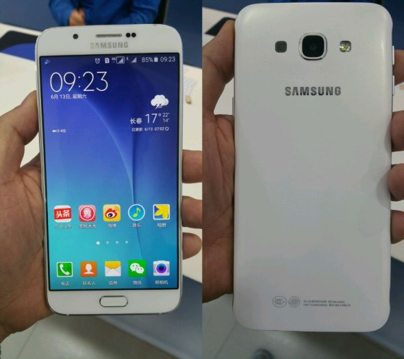 Samsung Galaxy A8 leaked photo