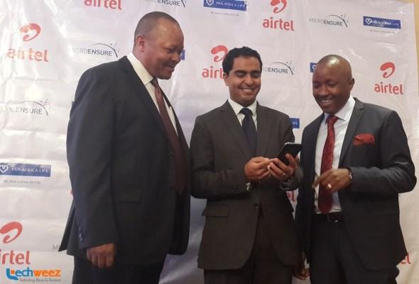 Airtel Insurance Launch 2015