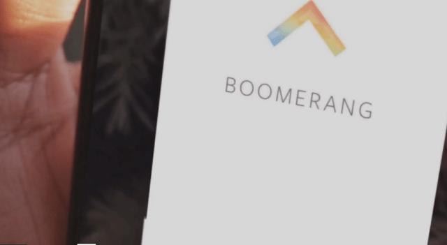 Instagam Boomerang