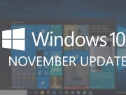 Windows 10 November Update