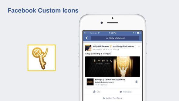 facebook custom icons