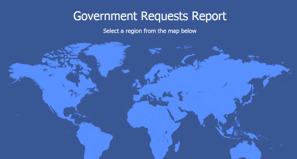 facebook government report