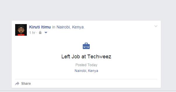 left job