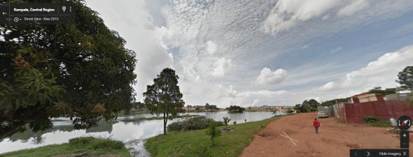 Kampala street view