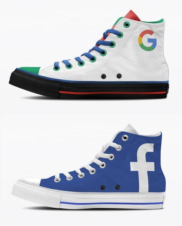 tech companies sneaker render