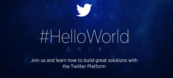 Twitter Hello World