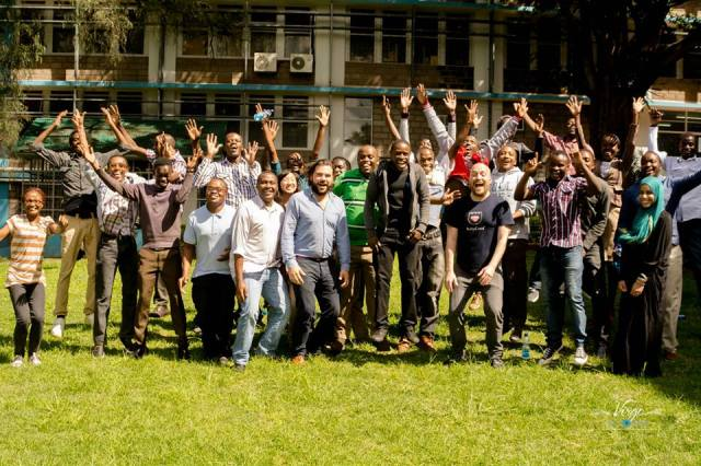 Participants of RubyConf 2015 (photo courtesy of Nairuby ke Facebook Page)