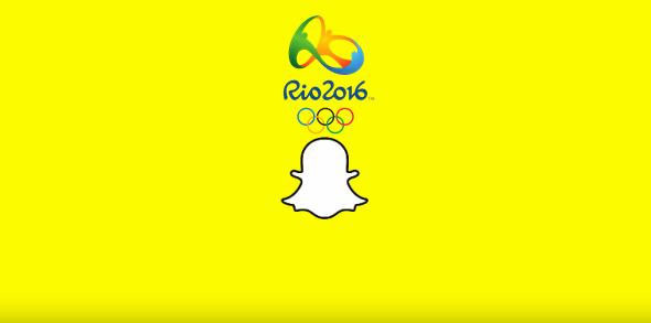 Snapchat Rio Olympics