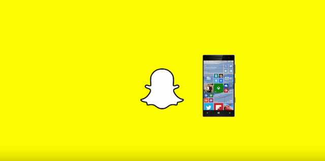 Snapchat on Windows phone