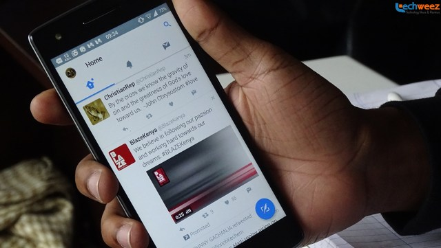Twitter for Android - Material Design update