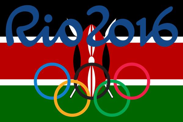 kenyan flag rio 2016