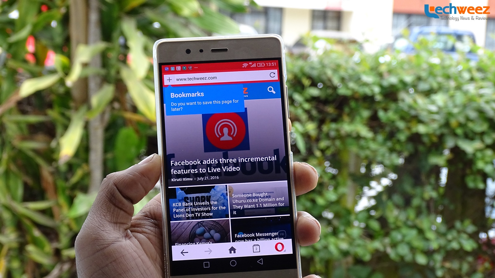 Opera Web Browser for Android Gets Material Design in Latest