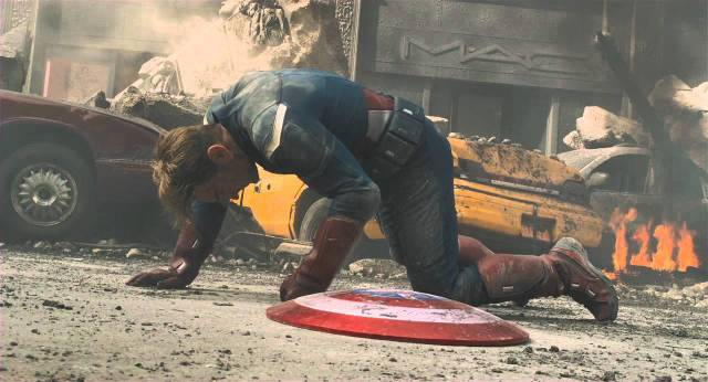 captain america gives up