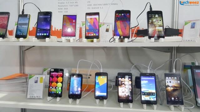 smartphones in store