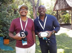 Brian Afande and Mike Ilako of BlackRhino VR