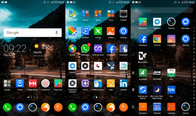 Note 4 Homescreen
