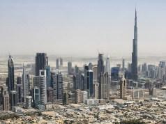Dubai skyline 2015