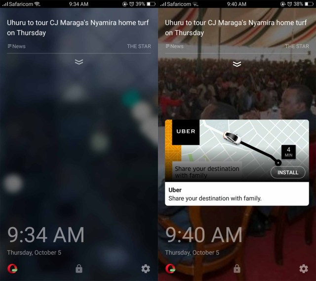 How to Disable Those Annoying Lock screen Ads on Opera Mini