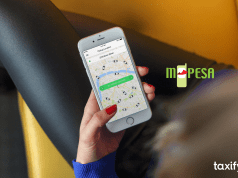 taxify MPESA