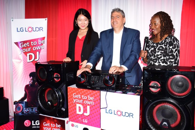 LG Loudr Music System